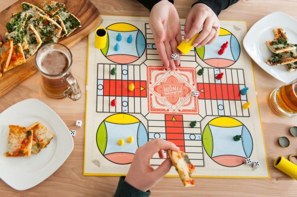 Hosting An Impromptu Snow Day Board Game Party by @cydconverse