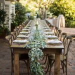 An Elegant Al Fresco Engagement Dinner Party