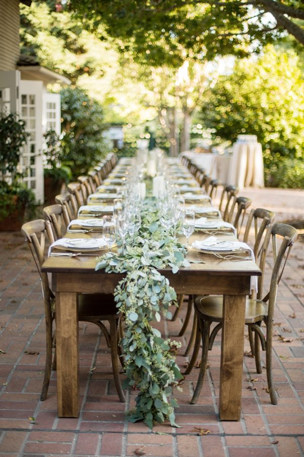 An Elegant Al Fresco Engagement Dinner Party The Sweetest Occasion