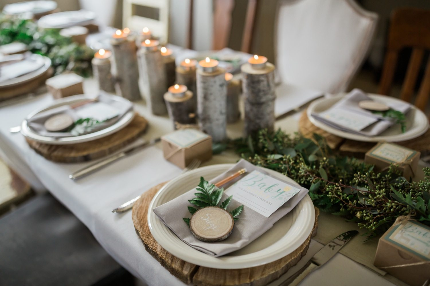 A Whimsical Woodland Baby Shower The Sweetest Occasion