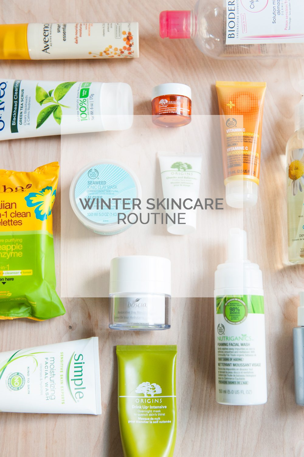Winter Skincare Routine from @cydconverse
