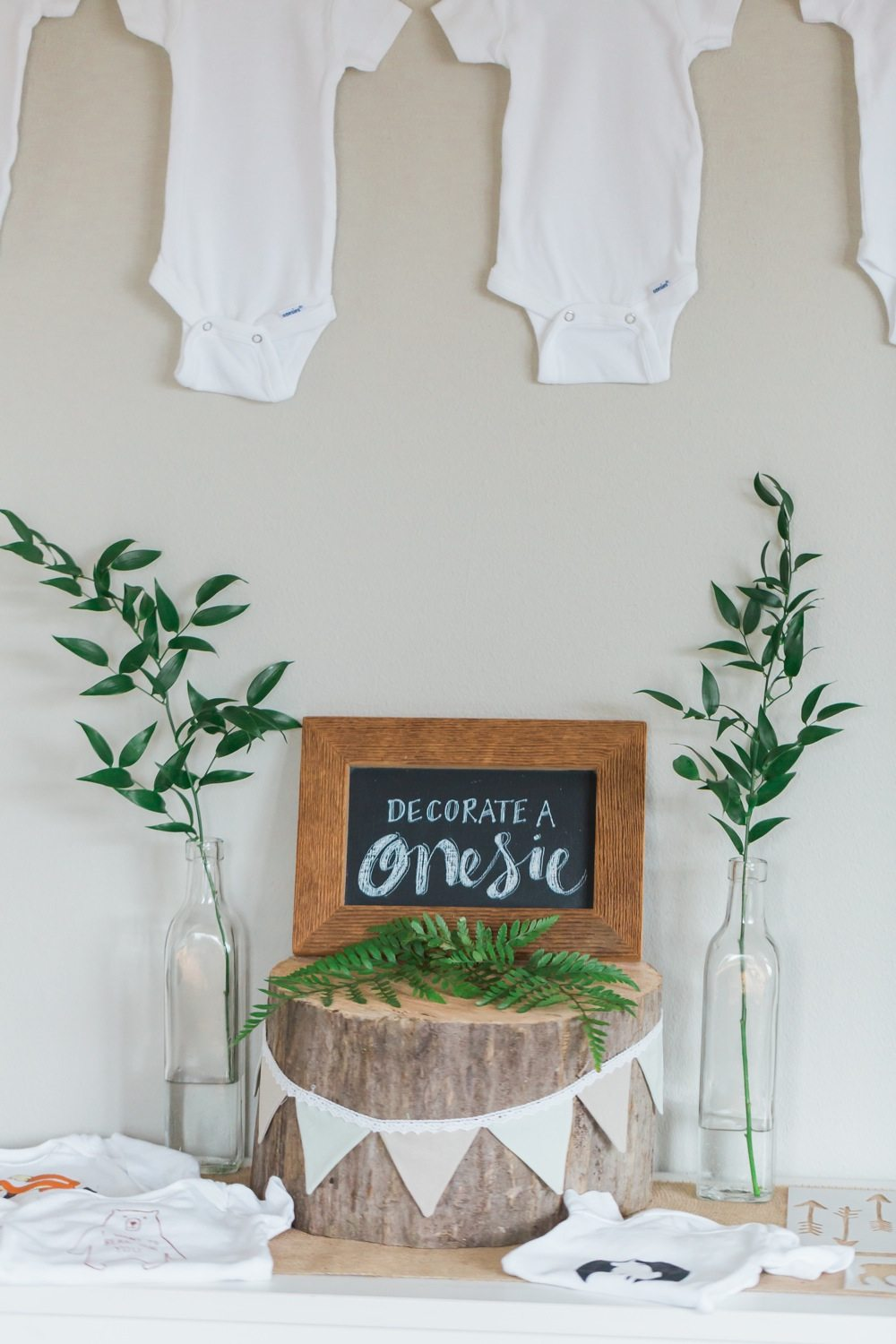 A whimsical woodland baby shower the sweetest occasion for Baby shower decoration set