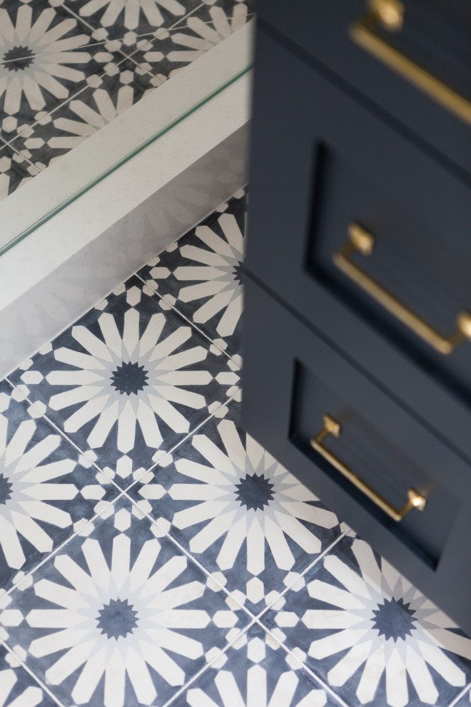 Loving Patterned Cement Tile | The Sweetest Occasion