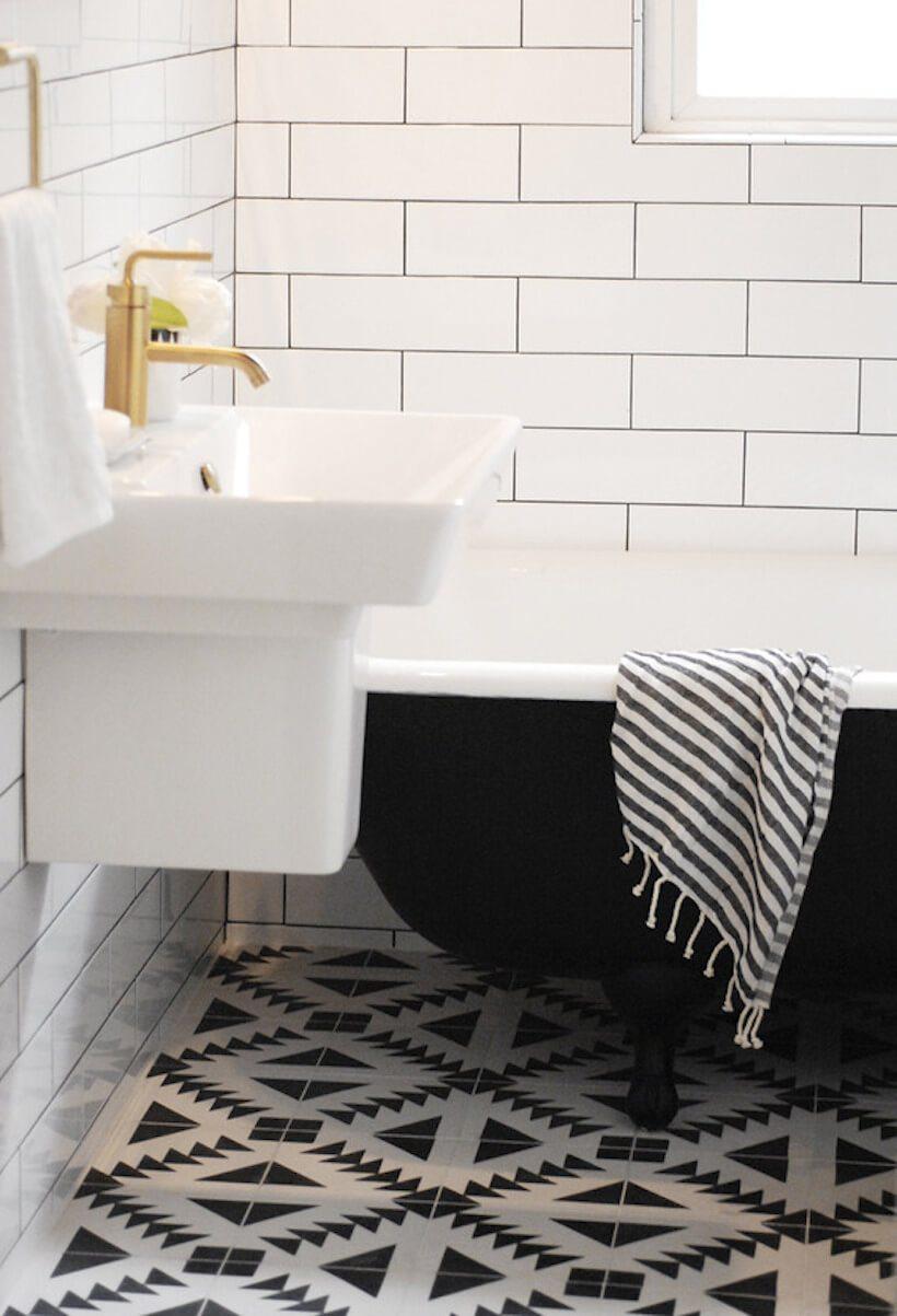 Patterned Floor Tiles Bathroom Loving Patterned Cement Tile The Sweetest Occasion Bloglovin