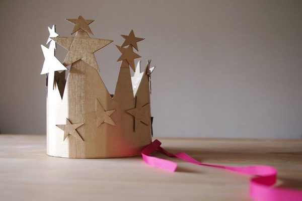 DIY Cardboard Crown