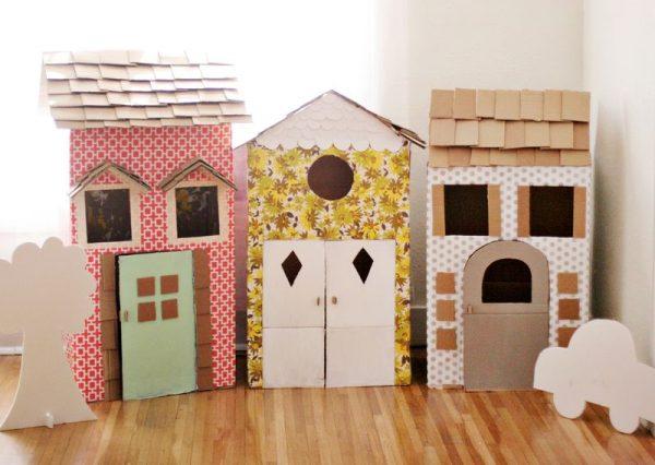 DIY Cardboard Houses
