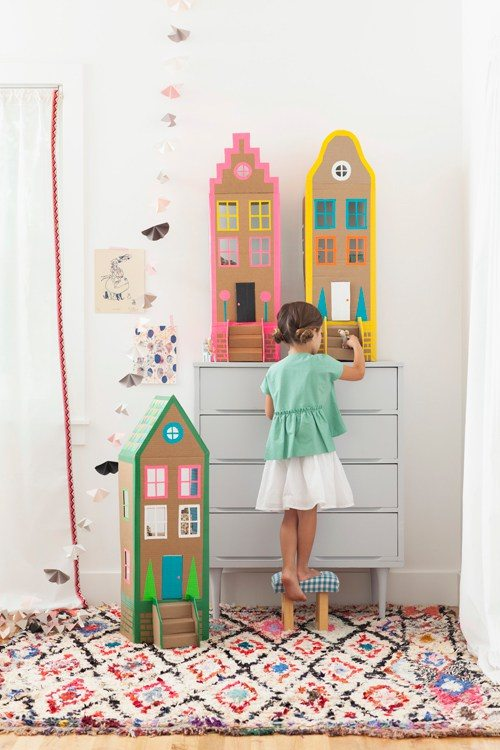DIY Cardboard Dollhouses