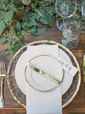 Organic Gold Place Setting from @cydconverse