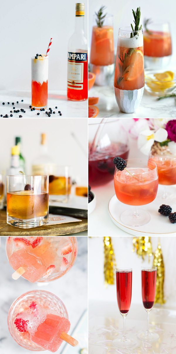 Cocktail Recipes via @cydconverse
