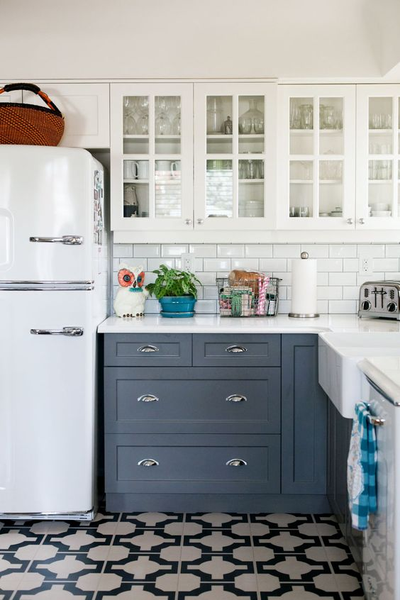 Loving patterned cement tile the sweetest occasion the for Cement tiles for kitchen