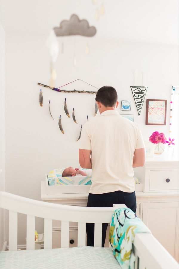 Modern Travel Themed Nursery Tour from @cydconverse