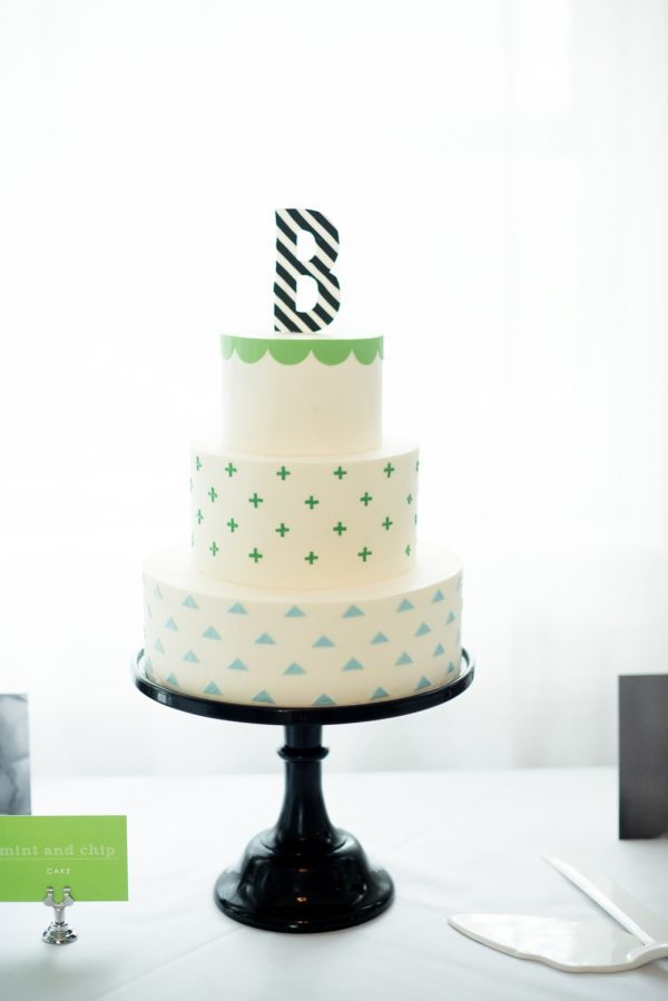 Modern Baby Shower Decor   Baby Shower Ideas from @cydconverse