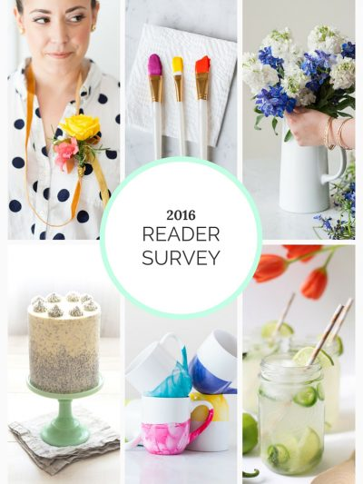2016 Reader Survey + Win a $100 Gift Card thumbnail