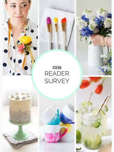 2016 Reader Survey + Win a $100 Gift Card thumbnail