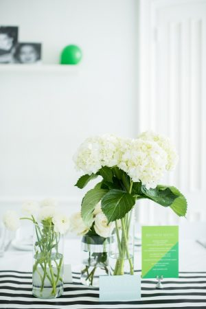 Modern Baby Shower Decor | Baby Shower Ideas from @cydconverse