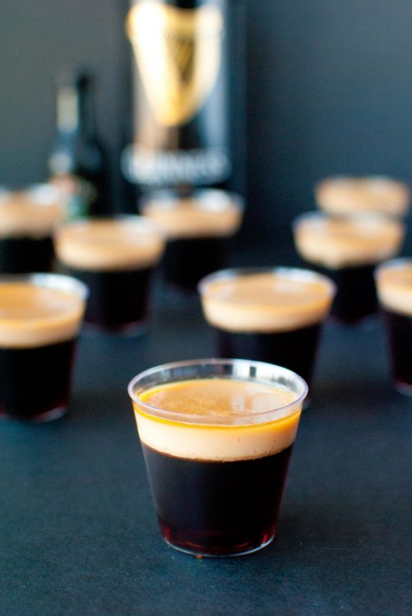 Baby Guinness Jello Shots | 17 Awesome Guinness Recipes from @cydconverse
