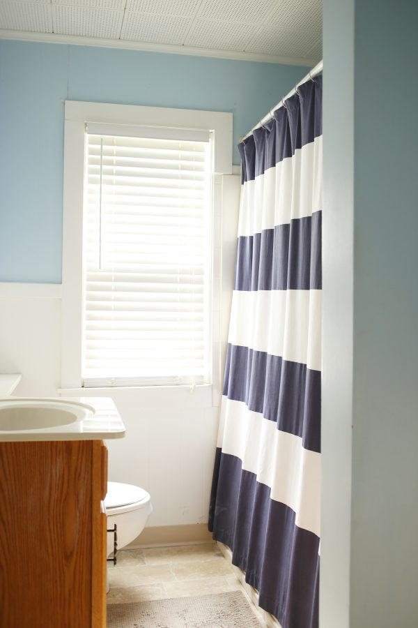 Mini Bathroom Renovation   Bathroom Paint Colors from @cydconverse and @valsparpaint