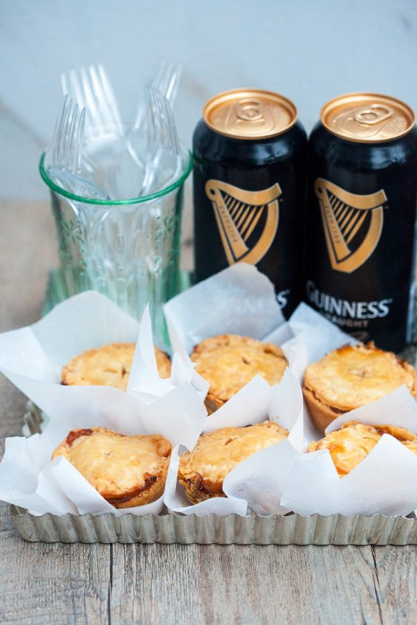 Beef and Guinness Hand Pies | 17 Awesome Guinness Recipes from @cydconverse