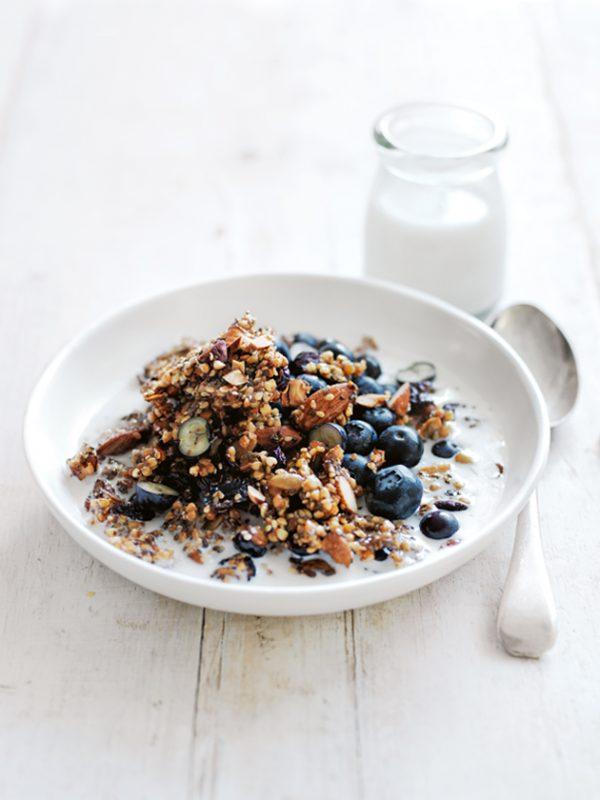 Crunchy Buckwheat Granola   Healthy Breakfast Recipes from @cydconverse