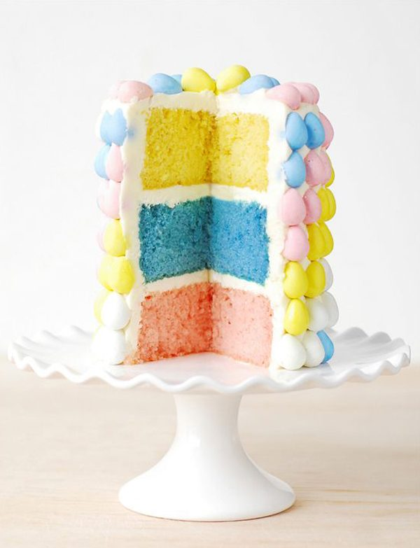 Cadbury Mini Egg Cake | 15 Gorgeous Easter Cakes from @cydconverse