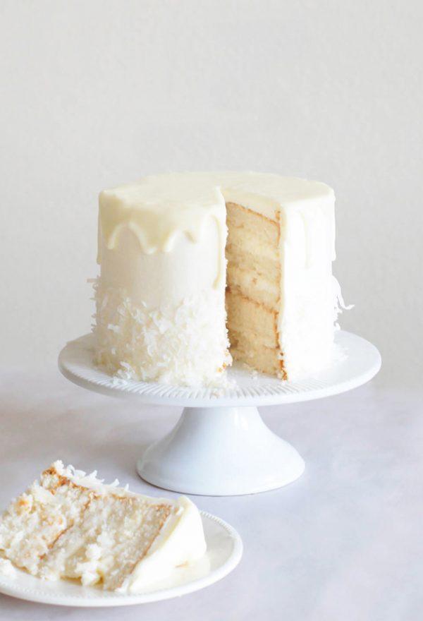 Sky High Raffaello Cake | 15 Gorgeous Easter Cakes from @cydconverse