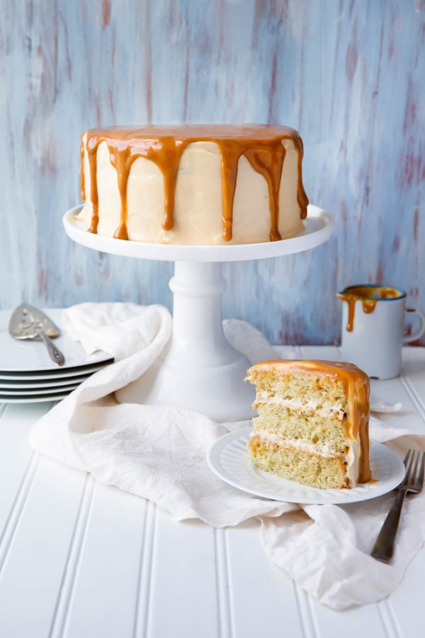 Dulce de Leche Cake | 15 Gorgeous Easter Cakes from @cydconverse