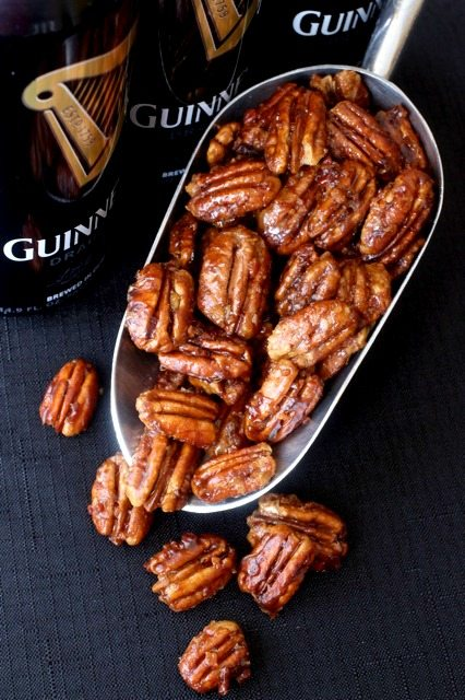 Guinness Beer Nuts | 17 Awesome Guinness Recipes from @cydconverse