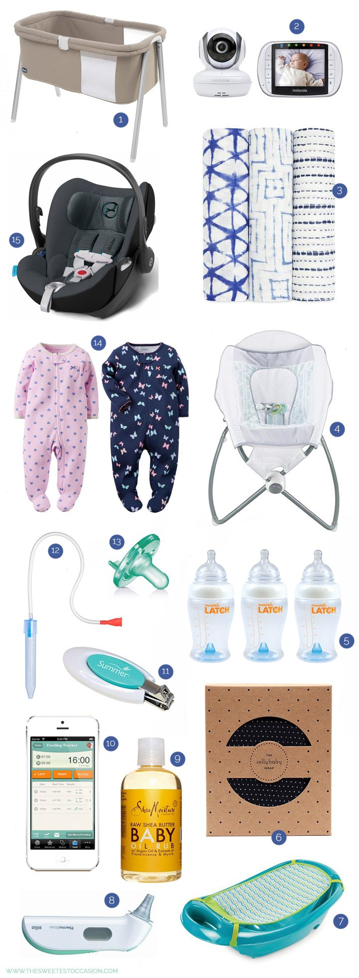 Newborn Baby Essentials | Baby Registry Must-Haves from @cydconverse