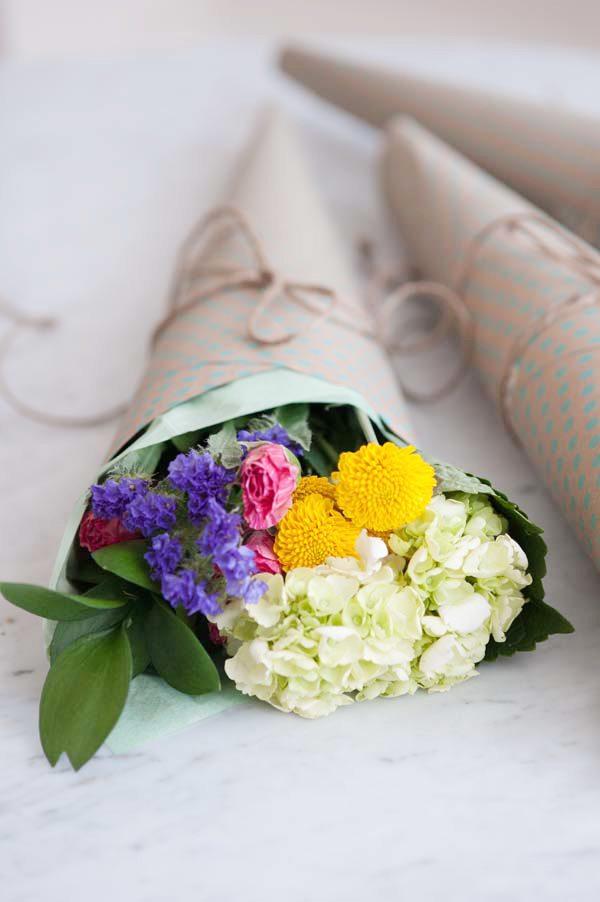 how to make a homemade bouquet