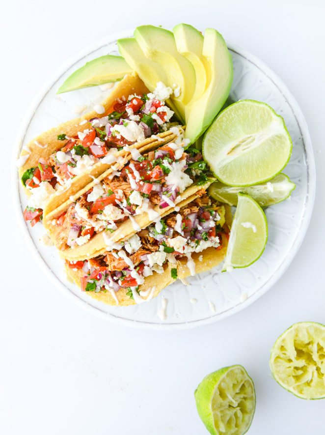 Easy Chicken Tacos Recipe | Get your fix of taco recipes and the ...