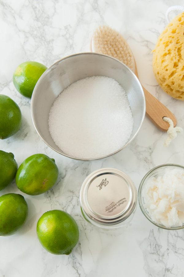 Homemade body scrub recipe | DIY body scrub from @cydconverse