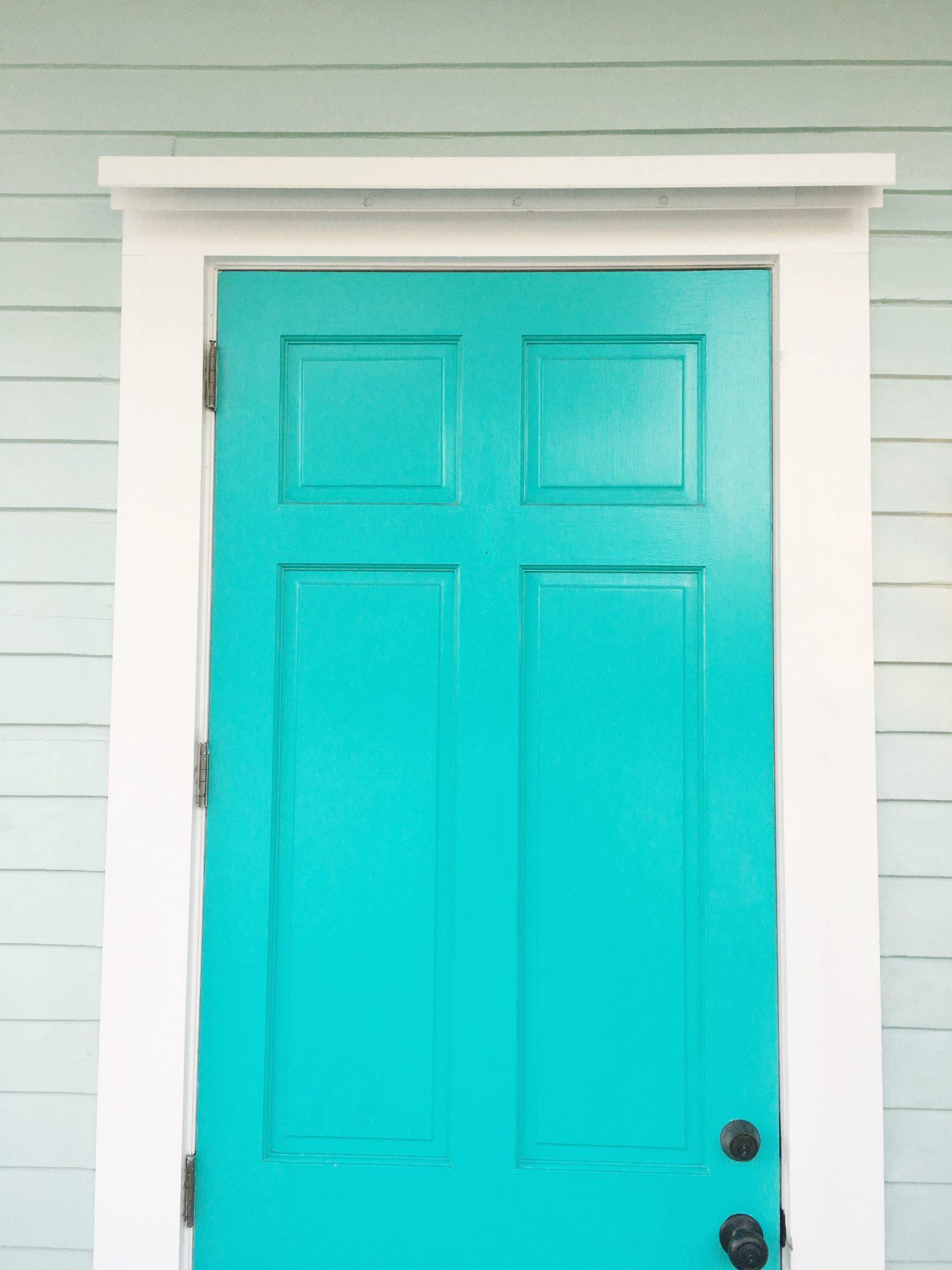 Aqua Front Door Key West