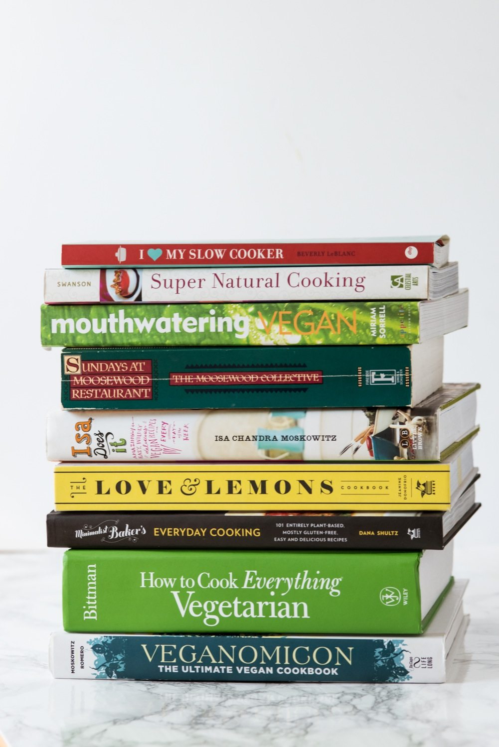 Best Vegetarian Cookbooks and Vegan Cookbooks from @cydconverse | Click over for our favorite meat-free and plant-based cookbooks or repin to save for later!