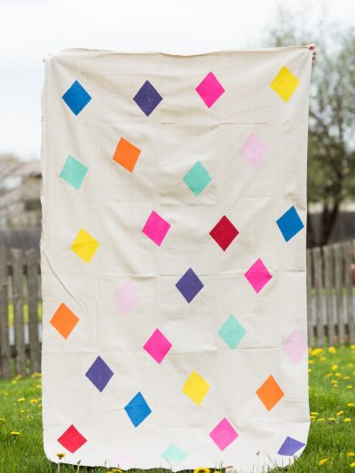 DIY Geometric Picnic Blanket thumbnail