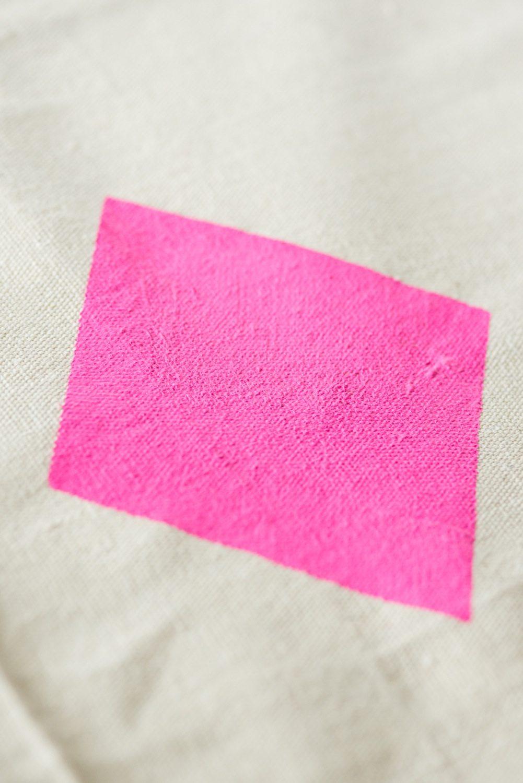 TieMart Pink Champagne Premium Pocket Square