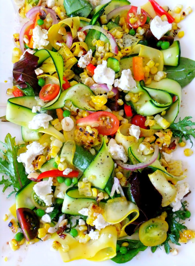 10 Perfect Summer Salads to Eat for Dinner - The Sweetest ...
