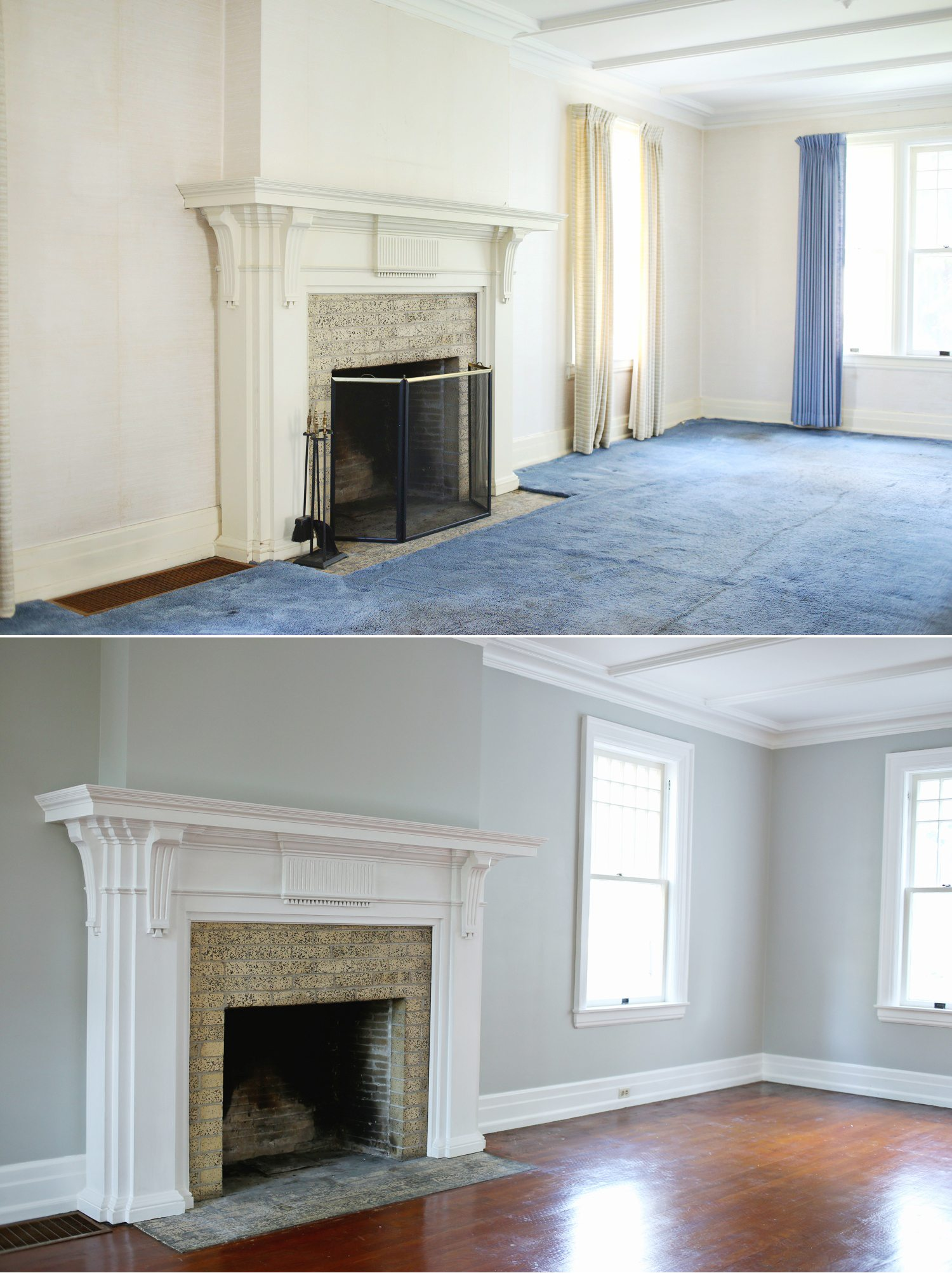 Our Living Room Renovation Before And After The