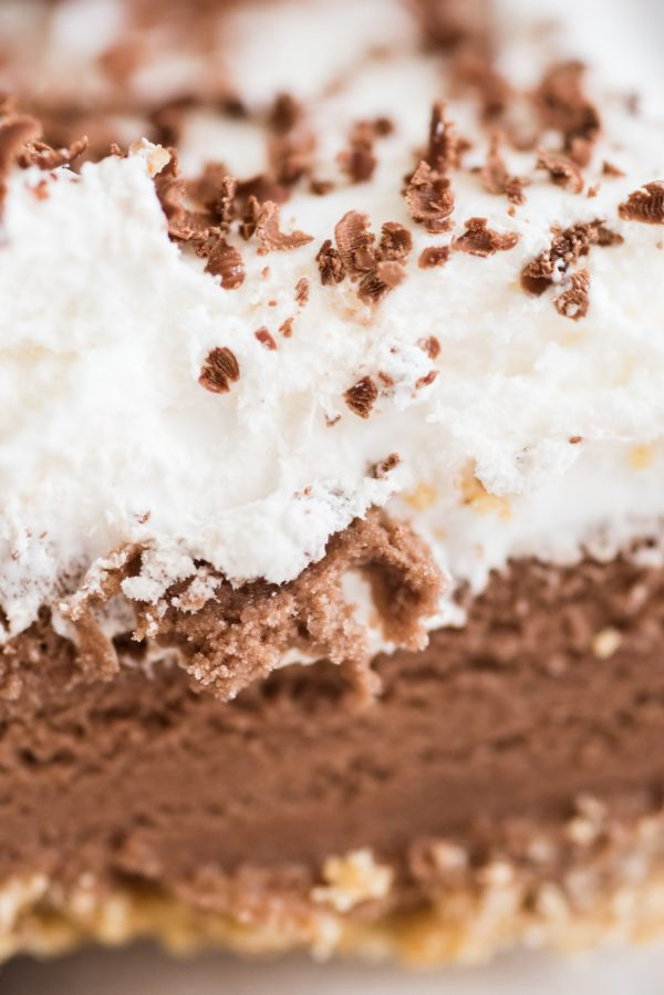 Homemade S'mores Ice Cream Cake Recipe | Party ideas and easy recipes from @cydconverse