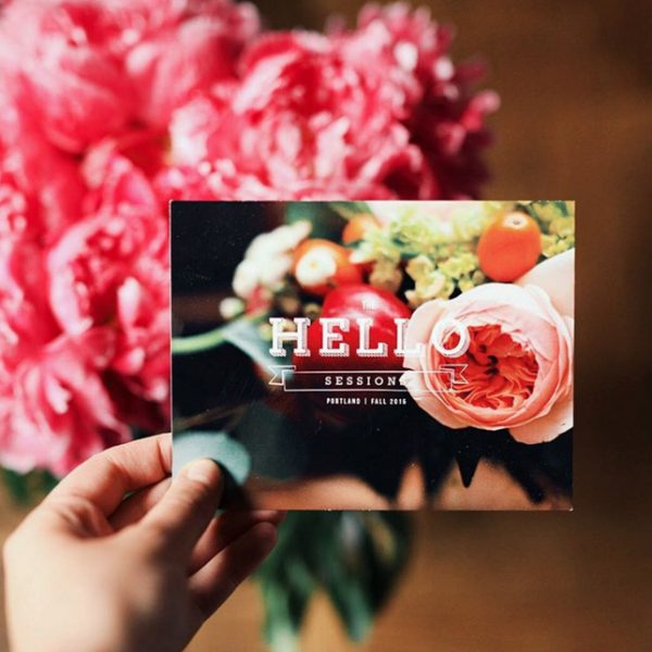 The Hello Sessions in Portland with @cydconverse | A blogger conference featuring blogging tips, business advice, branding insight and more!