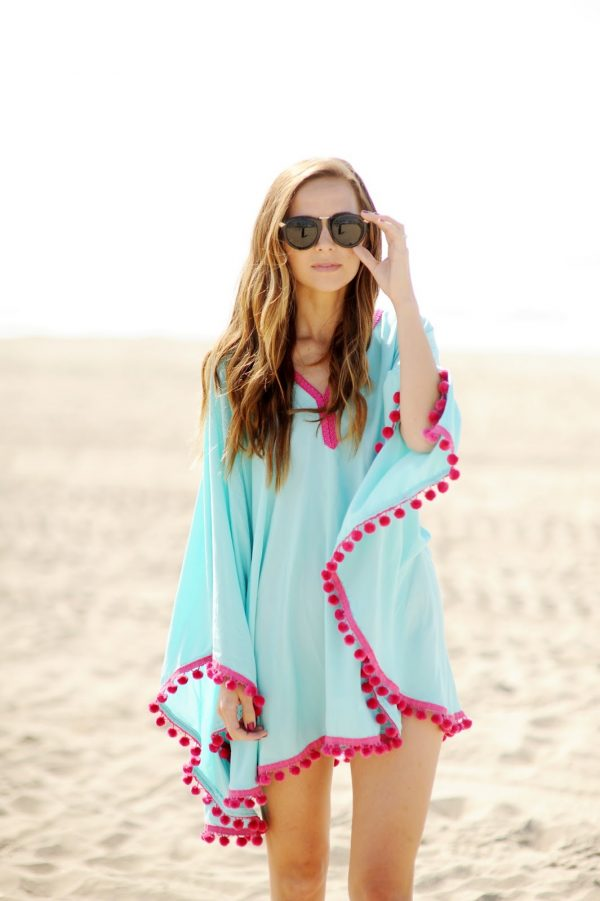 DIY Beach Coverup | DIY ideas for summer beach days and other fun summer ideas from @cydconverse