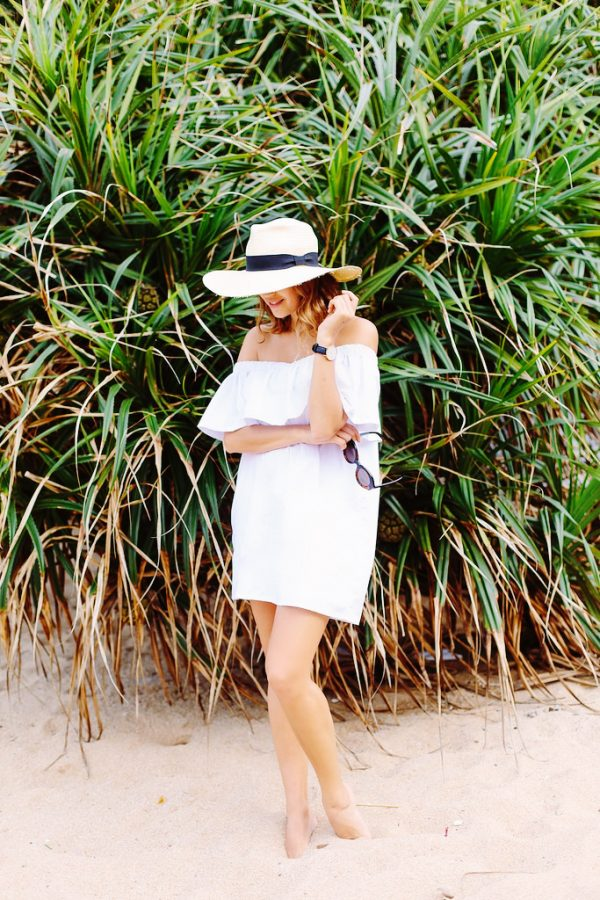 DIY Beach Dress | DIY ideas for summer beach days and other fun summer ideas from @cydconverse