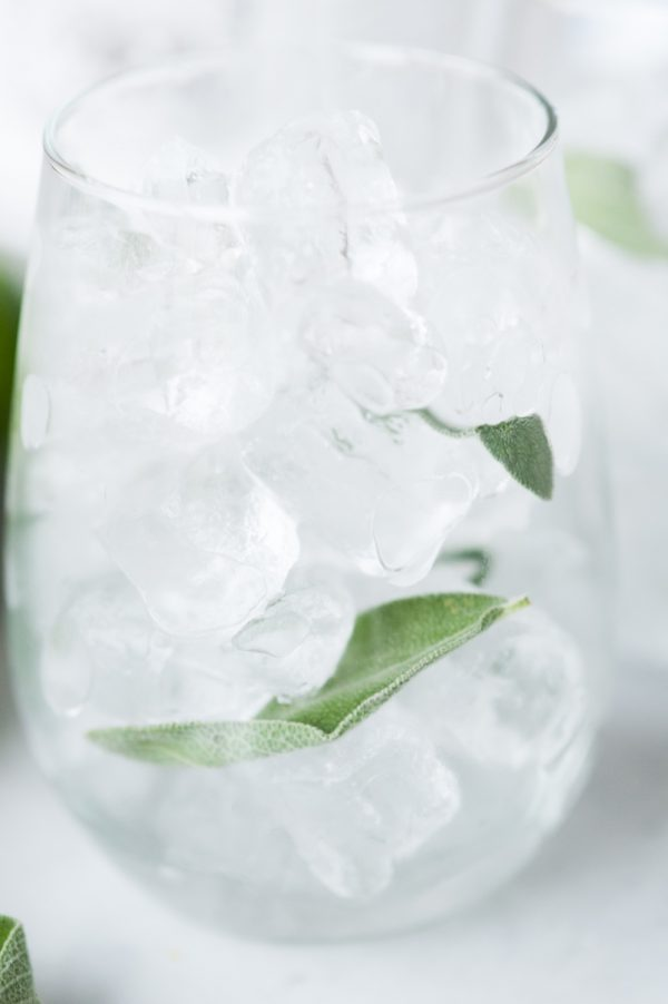 Honey Sage Gimlet Recipe | Cocktail recipes and entertaining ideas from @cydconverse