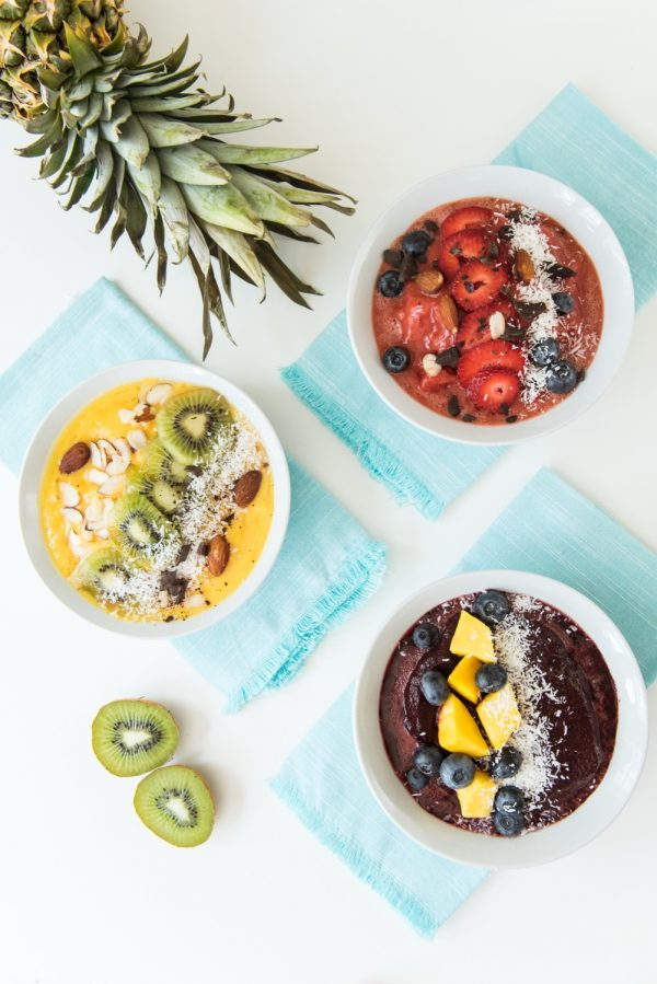 How to Make Fresh Summer Smoothie Bowls | Made with amazing @v8juices - real veggies for real people!