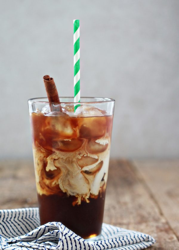 Cinnamon Dolce Iced Coffee Recipe | Best Iced Coffee Recipes from @cydconverse