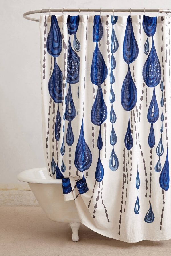 Jardin Des Plantes Shower Curtain | Pretty shower curtains and more home decor ideas from @cydconverse