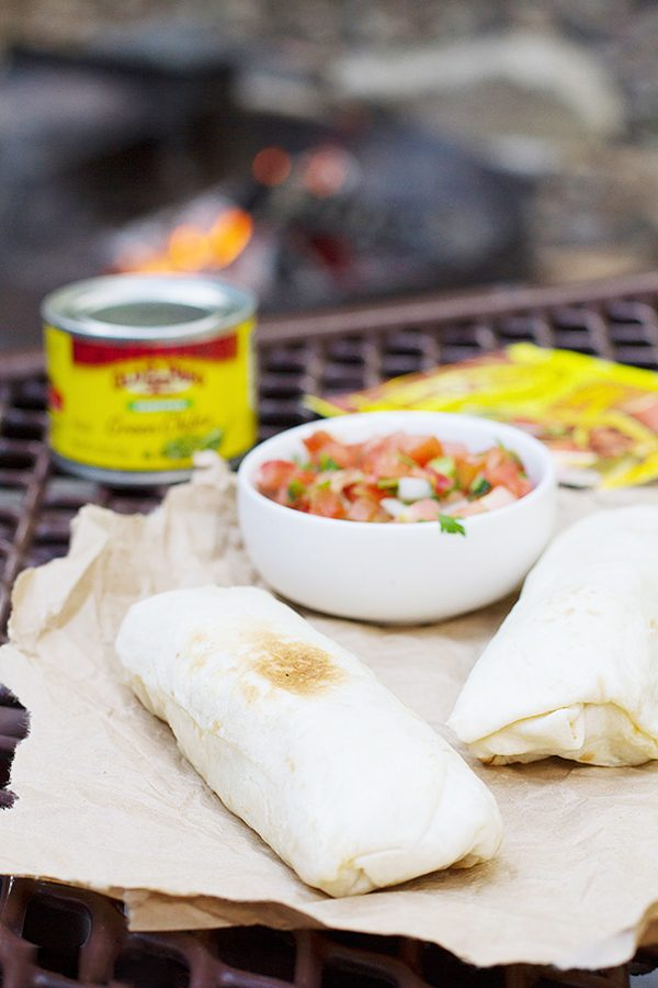 Campfire Breakfast Burritos Recipe   12 Delicious Camping Recipes from @cydconverse plus camping tips and a camping packing list!