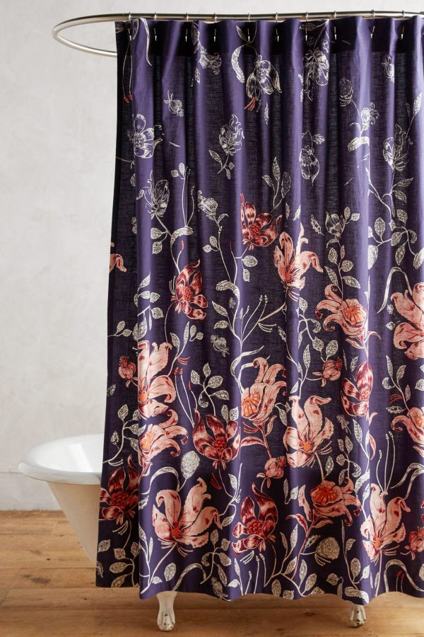 Catamarca Shower Curtain | Pretty shower curtains and more home decor ideas from @cydconverse