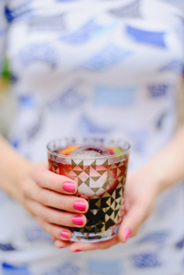 Classic Red Wine Sangria | 15 Sangria Recipes for Late Summer and Fall | Cocktail recipes, entertaining tips and party ideas from @cydconverse