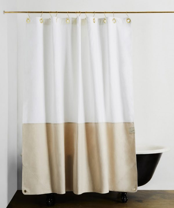 Quiet Town Shower Curtain | Pretty shower curtains and more home decor ideas from @cydconverse