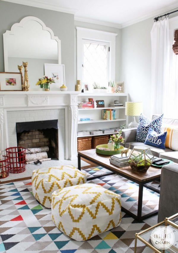 Living Room Decor Ideas from @cydconverse | Interior design, home decor, entertaining ideas and more!